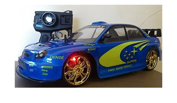 NEW Subaru Scooby IMPREZA Radio Remote Control Car 1//10 RC Rally Championship