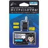 CYBER ・ マイク付き ヘッドホンアタッチメント(PS4用) ブラック - PS4