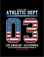 【FOX REPUBLIC】【ロサンゼルス アメリカ 星条旗】 黒マット紙(フレーム無し)A2サイズ