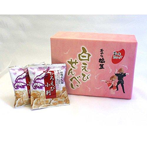 玉生酒分店 「白えびせんべい 大(10袋入り)×4」