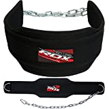 "RDX Weight Lifting Belt 6.5"" Professional Dipping Power Back Support Gym Exercise Adjustable Chain Workout Fitness Training Bodybuilding"