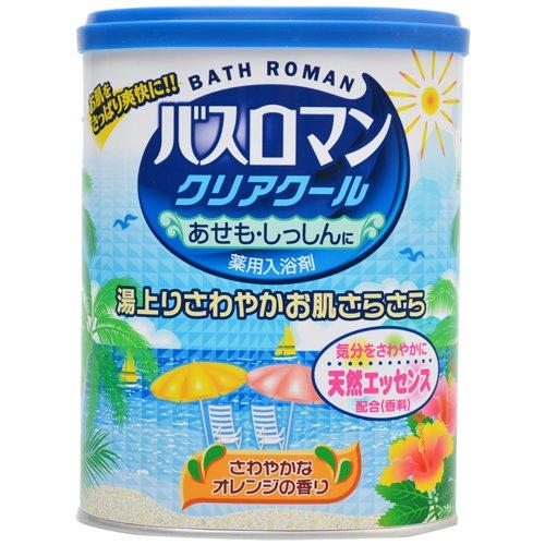 バスロマン クリアクール さわやかなオレンジの香り 850g(入浴剤) 日用品 入浴剤・温浴器 入浴剤 [並行輸入品]