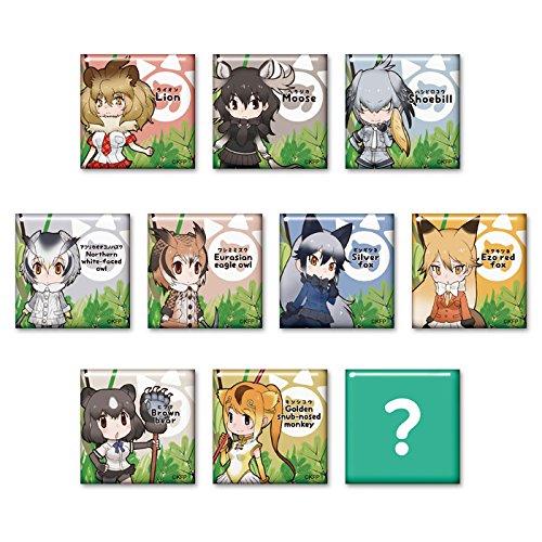 けものフレンズ トレーディングスクエア缶バッジ vol.2(BOX)