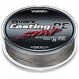 VARIVAS(バリバス) PEライン アバニ キャスティングPE スーパーマックスパワー 300m 8本 ステルスグレ…
