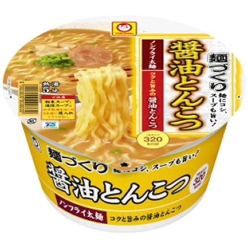 マルちゃん 麺づくり 醤油とんこつ 89g×12個