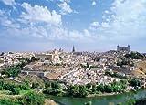 1000ピース ジグソーパズル 歴史都市トレド コンパクトピース (38x53cm)