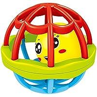 kingsung Fun Multicolored Sensoryベルボール赤ちゃんFitness rattle ball幼児科学おもちゃ