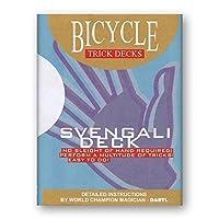 Svengali Deck Bicycle (Red) - Trick [並行輸入品]