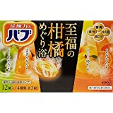 花王 バブ 至福の柑橘めぐり浴 12錠入 【医薬部外品】