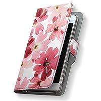igcase Xperia Z4 SOV31 専用ケース 手帳型スマホカバー カバー ケース 011258 花 フラワー 水彩