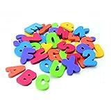 ベビーおもちゃ アルファベット 36個セット EVAフォーム製 英語の勉強 誕生日 プレゼント 幼児 知育玩具 - Best Reviews Guide