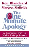 One Minute Apology Unabridged, The