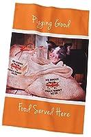 Border Fine Arts Kitchy and Co a28935Pigging Good Pig Tea Towel