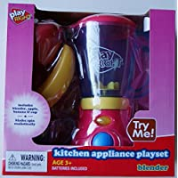 PlayRight Kitchen Appliance Blender & Food Playset [並行輸入品]