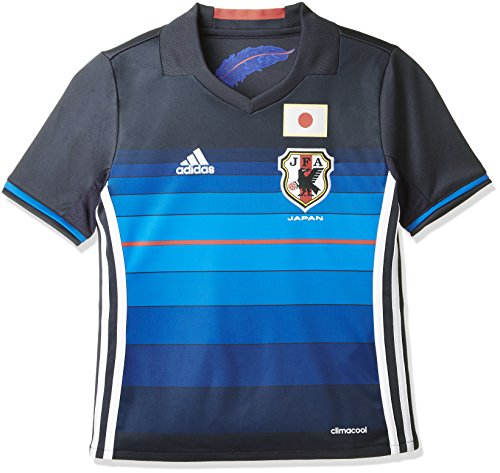 (アディダス)adidas サッカーウェア 日本代表 ホーム レプリカ ユニフォーム 半袖シャツ AAN13 [キッズ] AA0312 ナイトネイビー/ホワイト/ブライトロイヤル J150