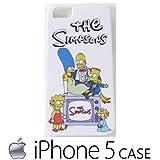 シンプソンズ iPhone5ケース iPhone5sケース【ファミリー3】iPhone5用