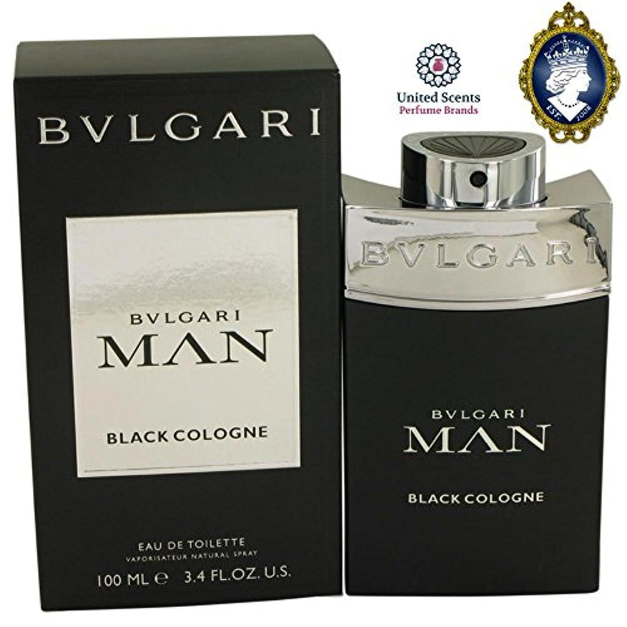 たまにご飯半ばブルガリ(BVLGARI) マン ブラック コロン EDT SP 100ml [並行輸入品]