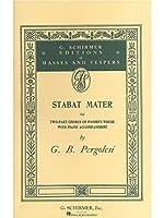 Giovanni Pergolesi: Stabat Mater (Vocal Score)- Upper Voices / ジョヴァンニ・ペルゴレージ: スターバト・マーテル (ヴォーカルスコア) 高声 楽譜
