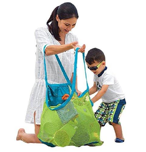 [해외]대형 장난감 수납 가방 비치 가방 메쉬 가방 미니 수납 주머니 세트 어린이 해변 장난감 지갑 K276/Oversized Toy Storage Bag Beach Bag Mesh Bag Mini Storage Bag Set Children Sea Bath Toy K276