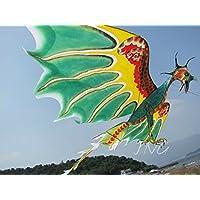 濰坊凧:伝統凧:翼竜凧 図案も手作りで描かられています, 観賞やコレクター、凧を揚げること、贈り物にピッタリです