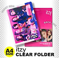 ITZY (イッジ) クリア フォルダー/ファイル (Clear Folder/File) [A4 SIZE] グッズ