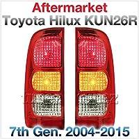 tunez Rlth05Pハイラックス2004年から2015年第7世代の新しいフェイスリフトリアテールライトランプペアセットの球根