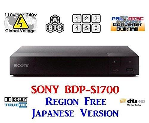 SONY BDP-S1700【日本語バージョン】 リージョンフ...