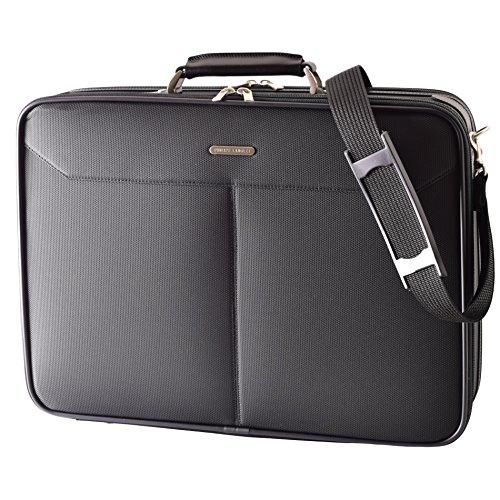 (フィリップラングレー)PHILIPE LANGLET ビジネスバッグ 日本製ソフトアタッシュケース A3ファイル対応 軽量 ショルダーベルト付き 21121 utc