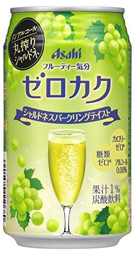 アサヒ ゼロカク シャルドネスパークリングテイスト 缶 350ml