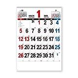 新日本カレンダー 2020年 カレンダー 壁掛け THE・文字 A2 NK163