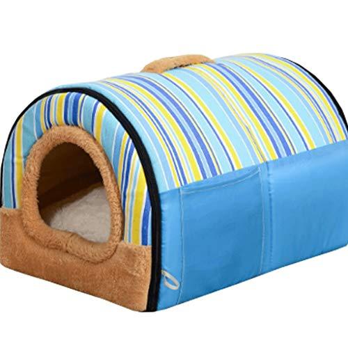 ケンネル半閉鎖ジッパー冬暖かい取り外し可能なクリーニングペットハウスリビングルームベッドルームバルコ...
