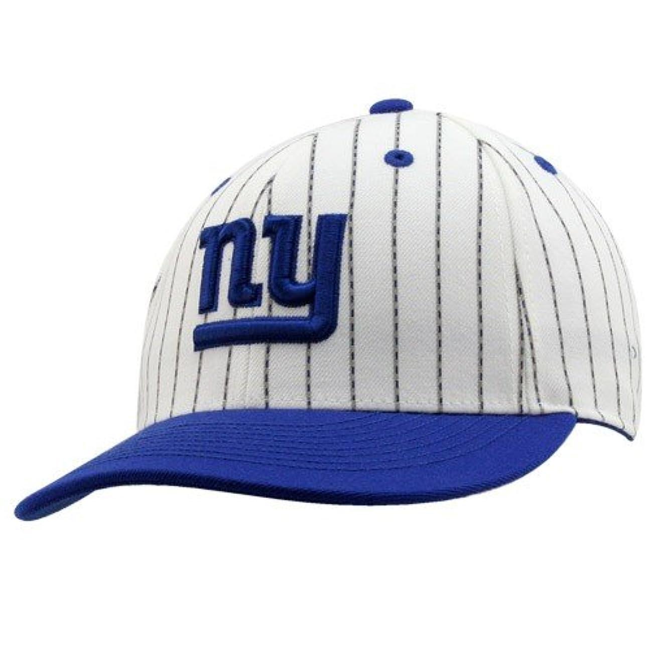 著名な分散ラリー新しいYork GiantsフラットビルStructured Fittedリーボック帽子サイズ7 1 / 8