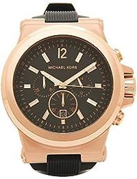 [マイケルコース] 腕時計 メンズ MICHAEL KORS MK8184 ブラック ピンクゴールド [並行輸入品]