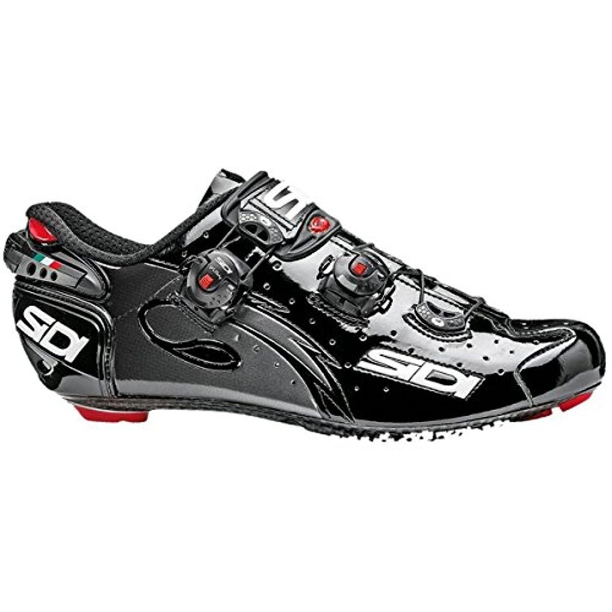 異常自動車不幸Sidi Wire Carbon Road Cycling Shoes – ブラック/ブラック[サイズ: 38 ~ 47 EUR ]