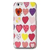 Plune×CollaBorn iPhone 6s / 6 (4.7インチ)専用 iCompact ミラー&カードフォルダー付ケース ピンクハート PL-I6X-027