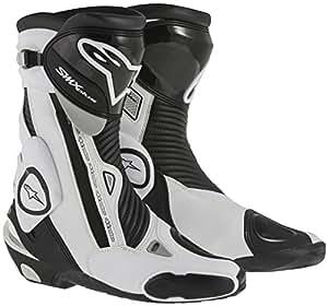 Alpinestars アルパインスター SMX Plus Boots 2015モデル ブーツ ブラック/ホワイト 38(約24cm)
