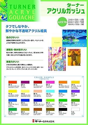 ターナー色彩 アクリルガッシュ ホワイト AG040001 40ml(9号)