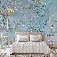 壁紙 レトロ高級ブルーブロンズテクスチャ写真の壁紙大3d壁画リビングルームの寝室のソファテレビの壁の装飾壁紙壁画 ldlbz (色 : 280cm X 180cm)