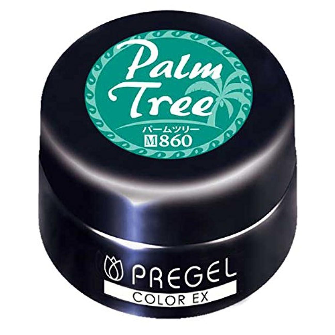 健康的広い開発するPRE GEL カラーEX パームツリー 860 3g UV/LED対応