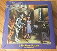 The Wizard of Oz 550 Piece Puzzle ~ Wicked Witch of the West is Melting! by Pressman Toy
