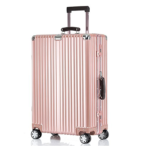 クロース(Kroeus)キャリーケース スーツケース TSAロック搭載 旅行 出張 大容量 復古主義 8輪 超軽量 S型機内持込可