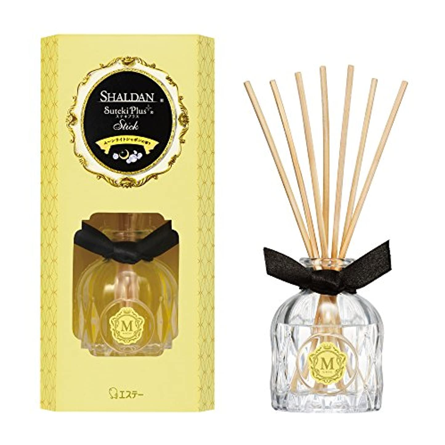年注意ビリーシャルダン SHALDAN ステキプラス スティック 消臭芳香剤 部屋用 部屋 本体 ムーンライトシャボンの香り 45ml