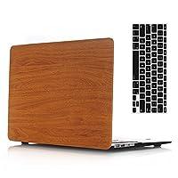 va0048Macbookケース 13 Air(A1369/A1466) VA0114-13Air-Wood Grain Orange