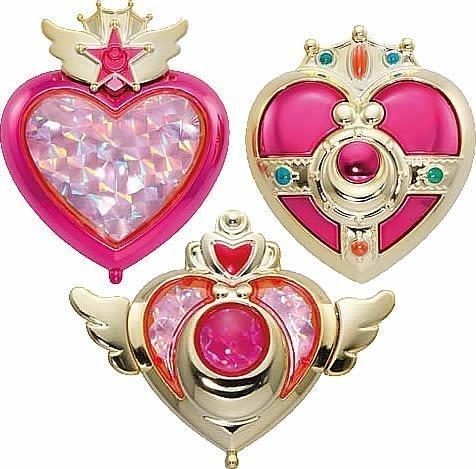 美少女戦士セーラームーン 変身コンパクトミラー  3種
