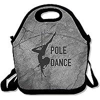 Pole Dance 大型&厚手断熱トート Bayfieldバッグ ペーパーランチバッグ メンズ レディース キッズ ランチ用