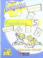 Proyecto Burbujas, escritura 5, Educación Infantil