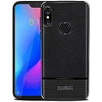 Xiaomi Mi A2 Lite Case, Phoebe Anti-Scratch バックシェル Shock-Absorbing ポーチ Protective Case for Xiaomi Mi A2 Lite (Black)