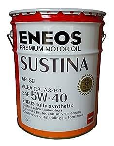 エネオス プレミアムオイル サスティナ 5W-40 20L ENEOS SUSTINA