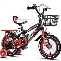 DGF 子供男性と女性のベビーカーの学生車12/14/16/18/children自転車2-10歳 (色 : 赤, サイズ さいず : 20 inches)