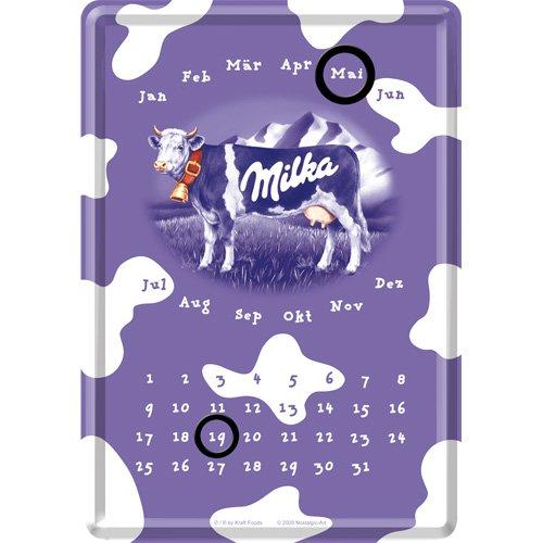 ミルカ Milka / カレンダー (ブリキ製)